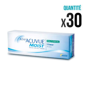 1 Day Acuvue Moist Multifocal – Boîte de 30