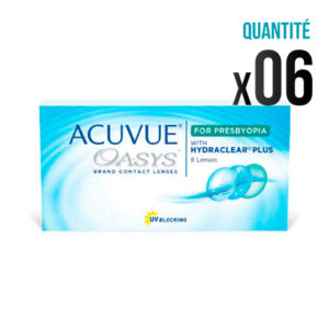 Acuvue Oasys pour presbytie