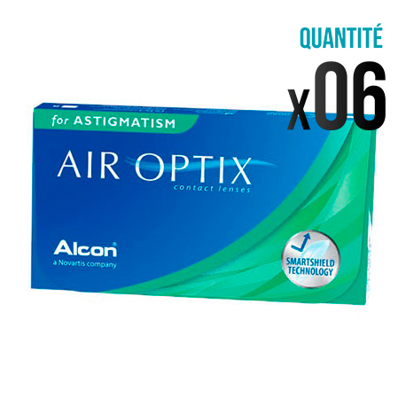 lentilles air optix aqua for astigmatism