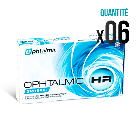 lentilles ophtalmic hr spheric