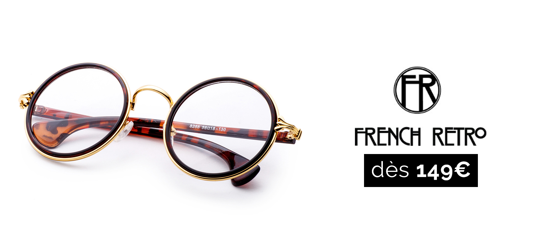 French retro lunettes